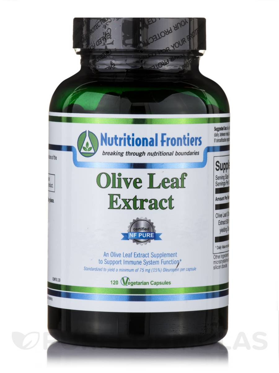 Olive Leaf Extract - 120 Vegetarian Capsules