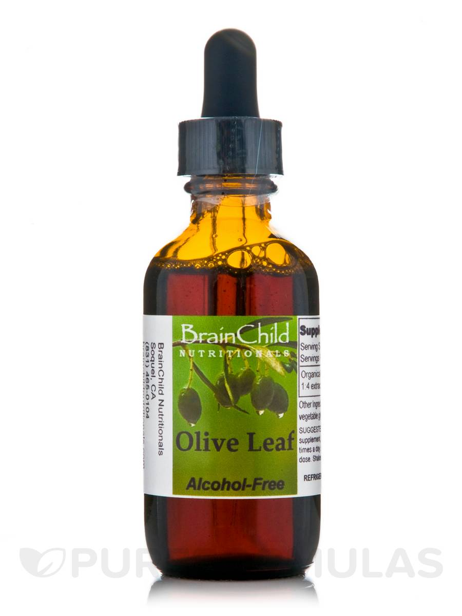 Olive Leaf (Alcohol-Free) - 2 oz (60 ml)