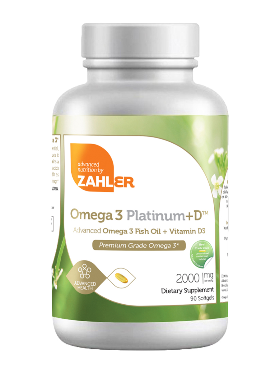 Omega 3 Platinum +D - 90 Softgels