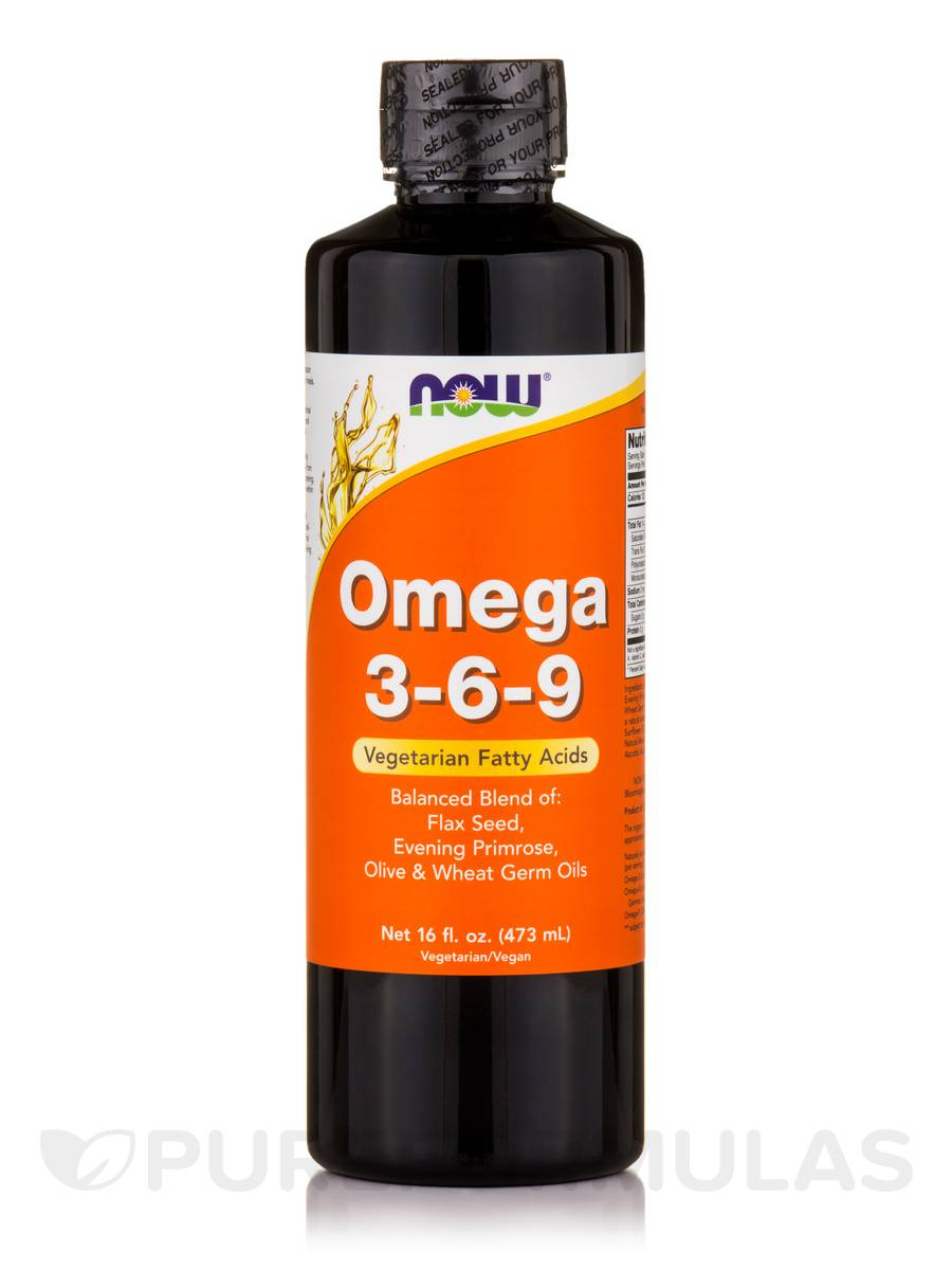 Omega 3-6-9 Liquid - 16 fl. oz (473 ml)