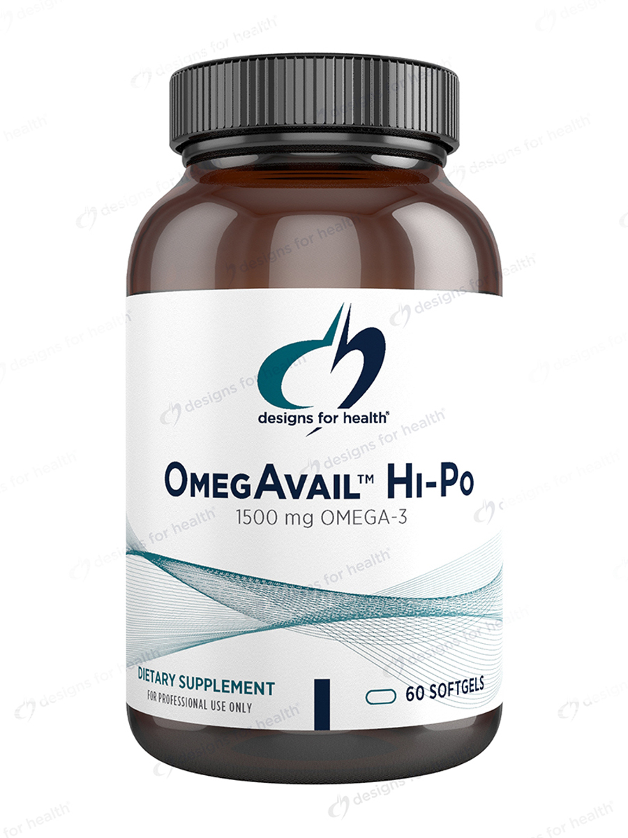 OmegAvail™ Hi-Po with Lipase - 60 Softgels