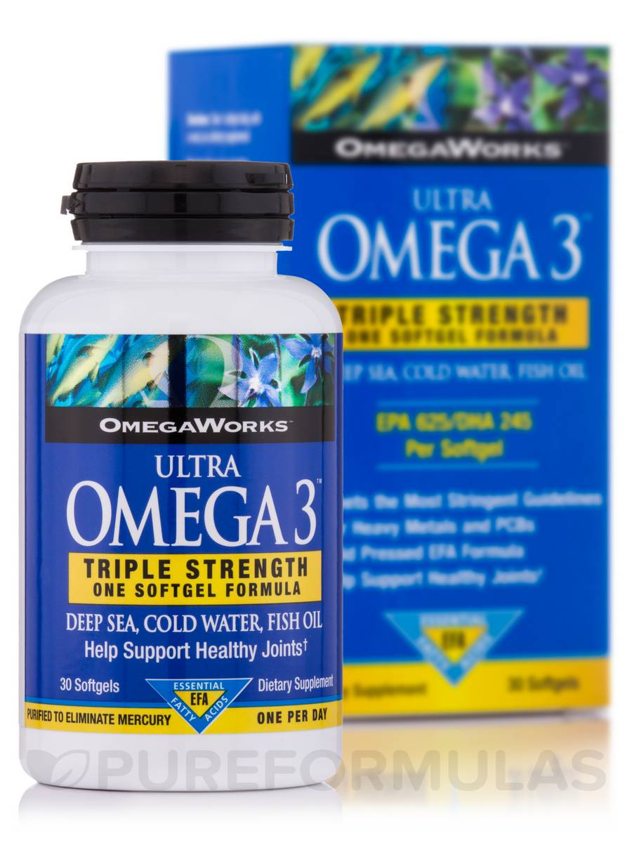 Omega Works Ultra Omega - 30 Softgels