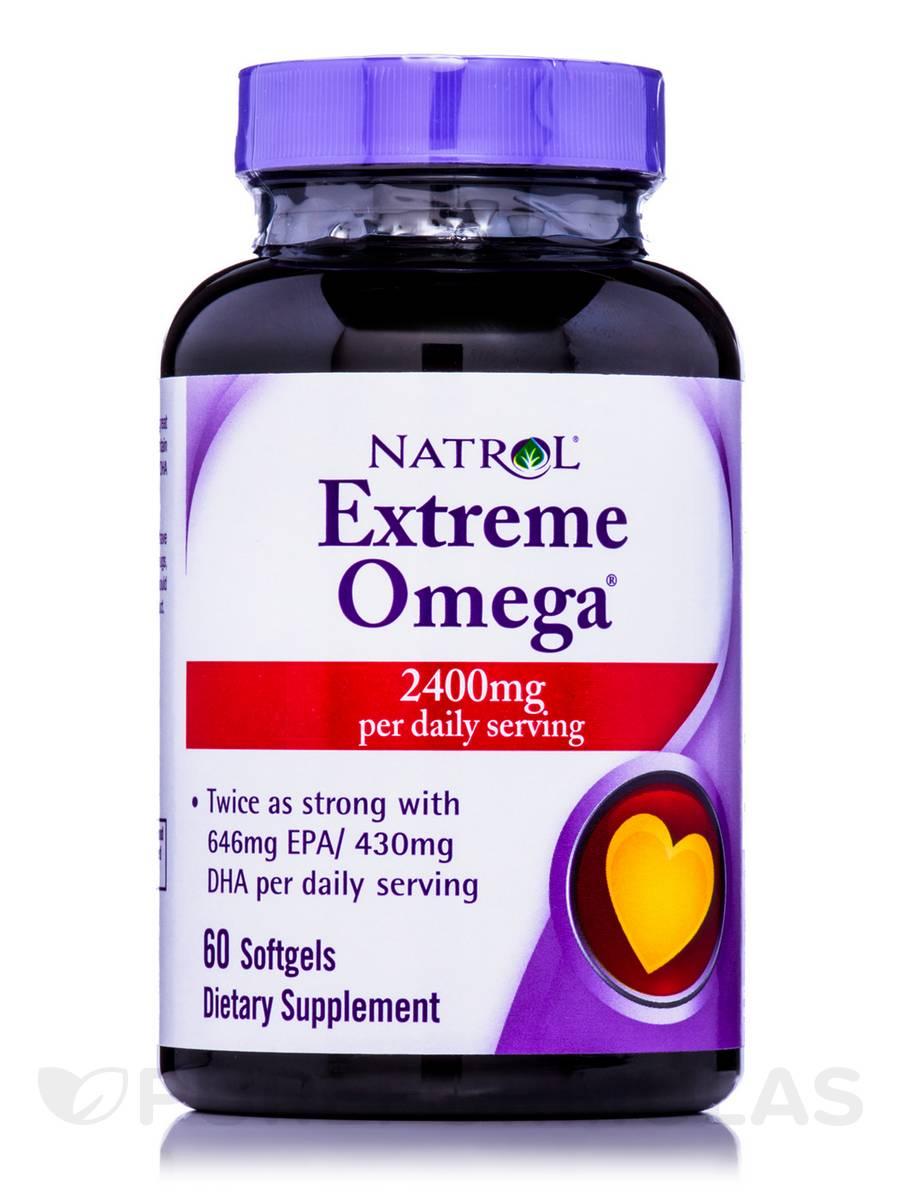 Extreme Omega - 60 Softgels