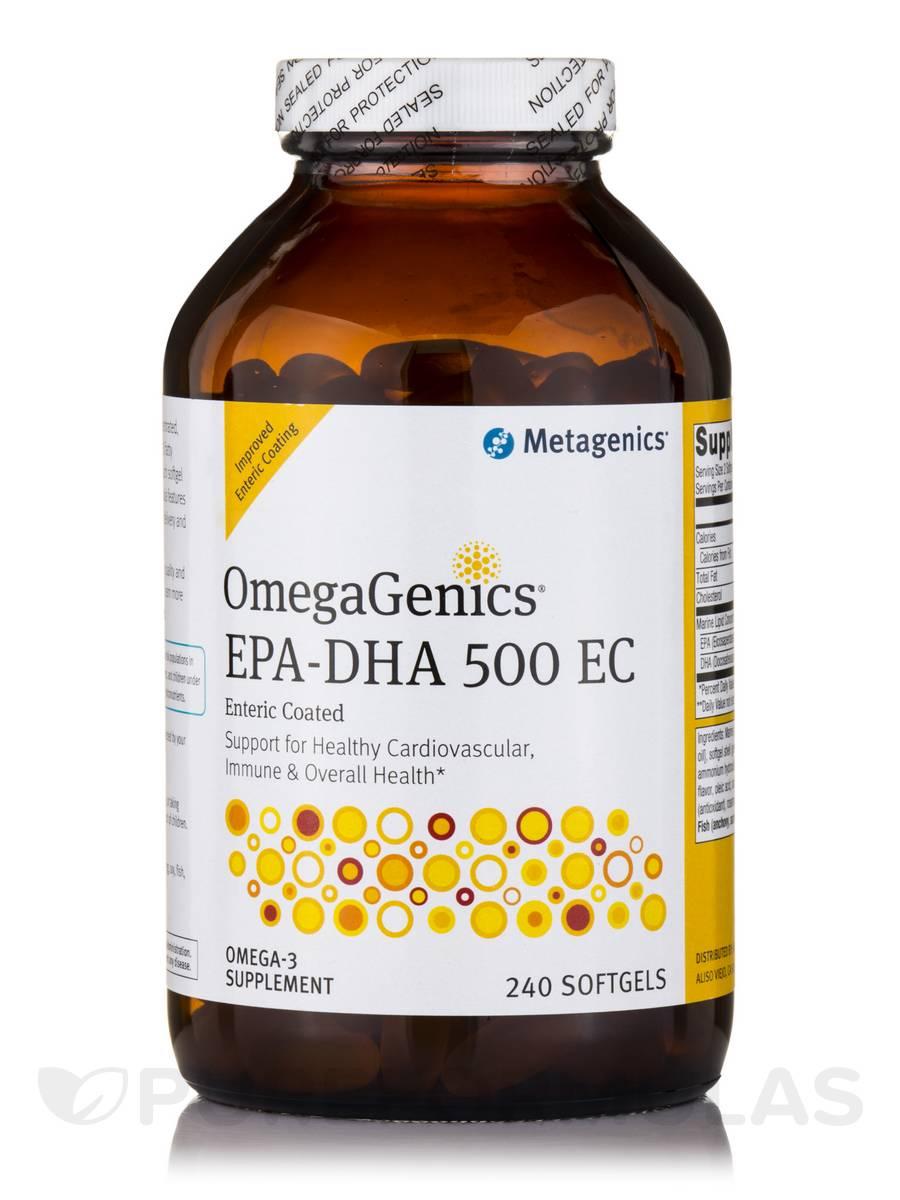 OmegaGenics® EPA-DHA 500 Enteric Coated - 240 Softgels