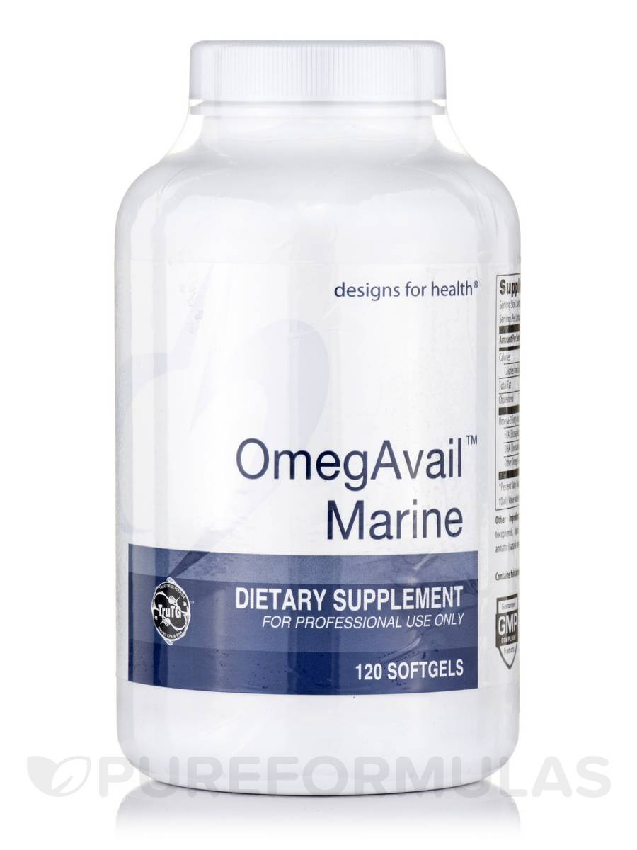 OmegAvail™ Marine (TruTG) - 120 Softgels
