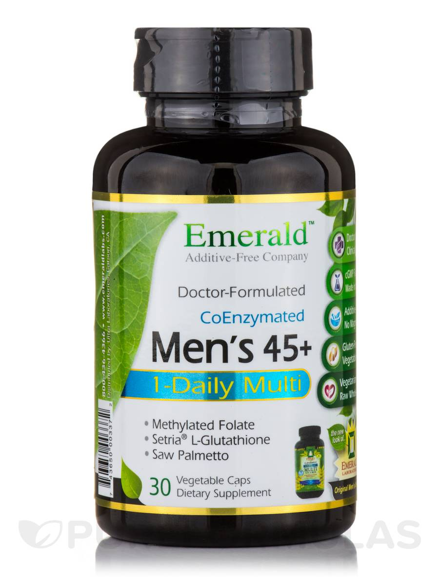 One-A-Day Complete Men's 45+ Multi Vit-A-Min - 30 Vegetable Capsules