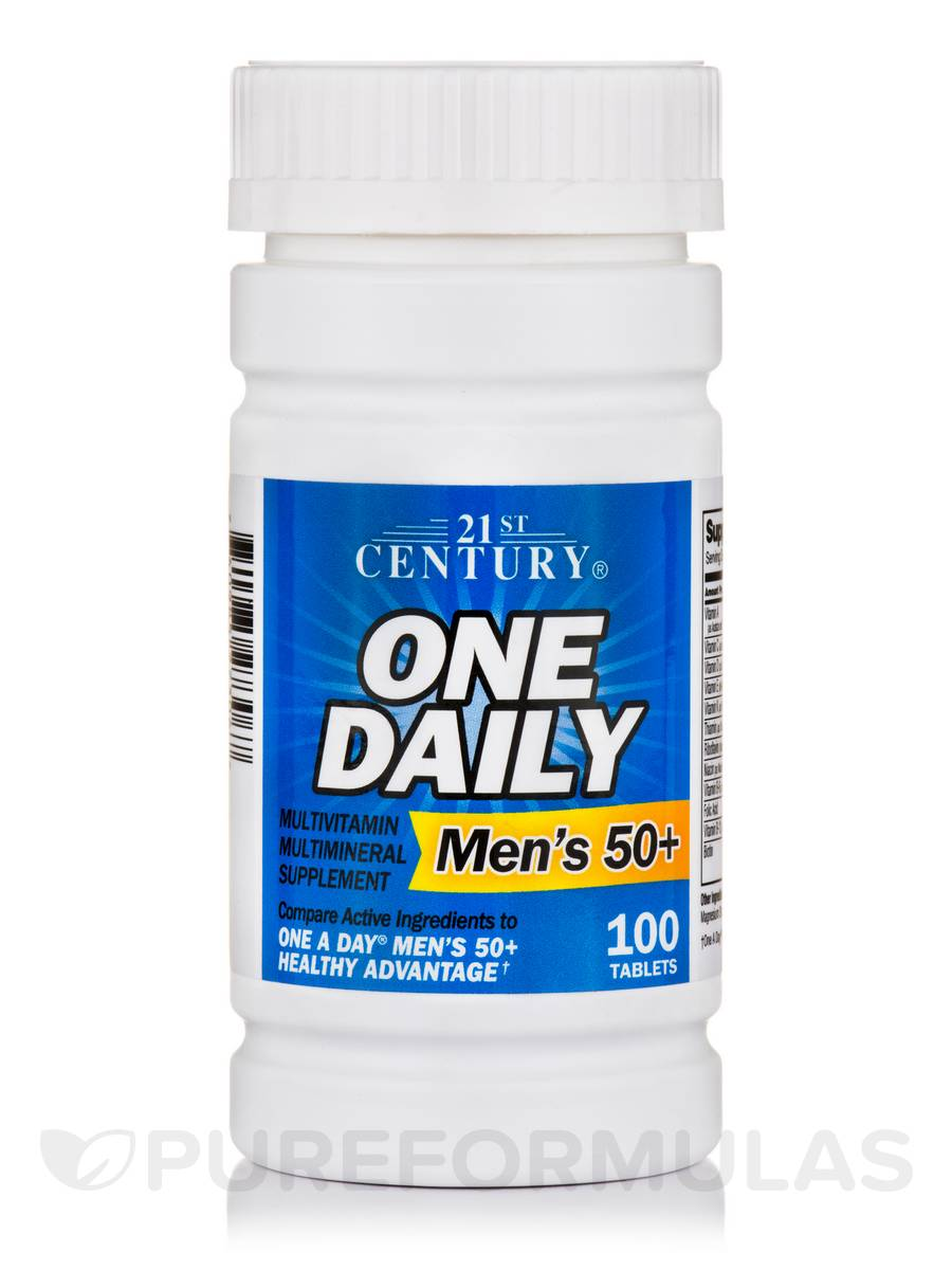 One Daily Multivitamin / Multimineral (Men's 50+) - 100 Tablets