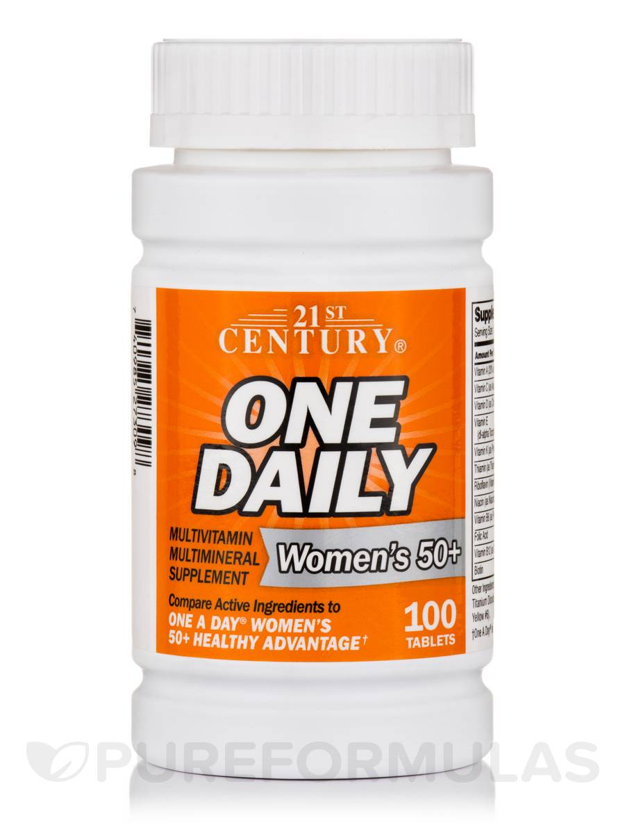 One Daily Women's 50+ - 100 Tablets