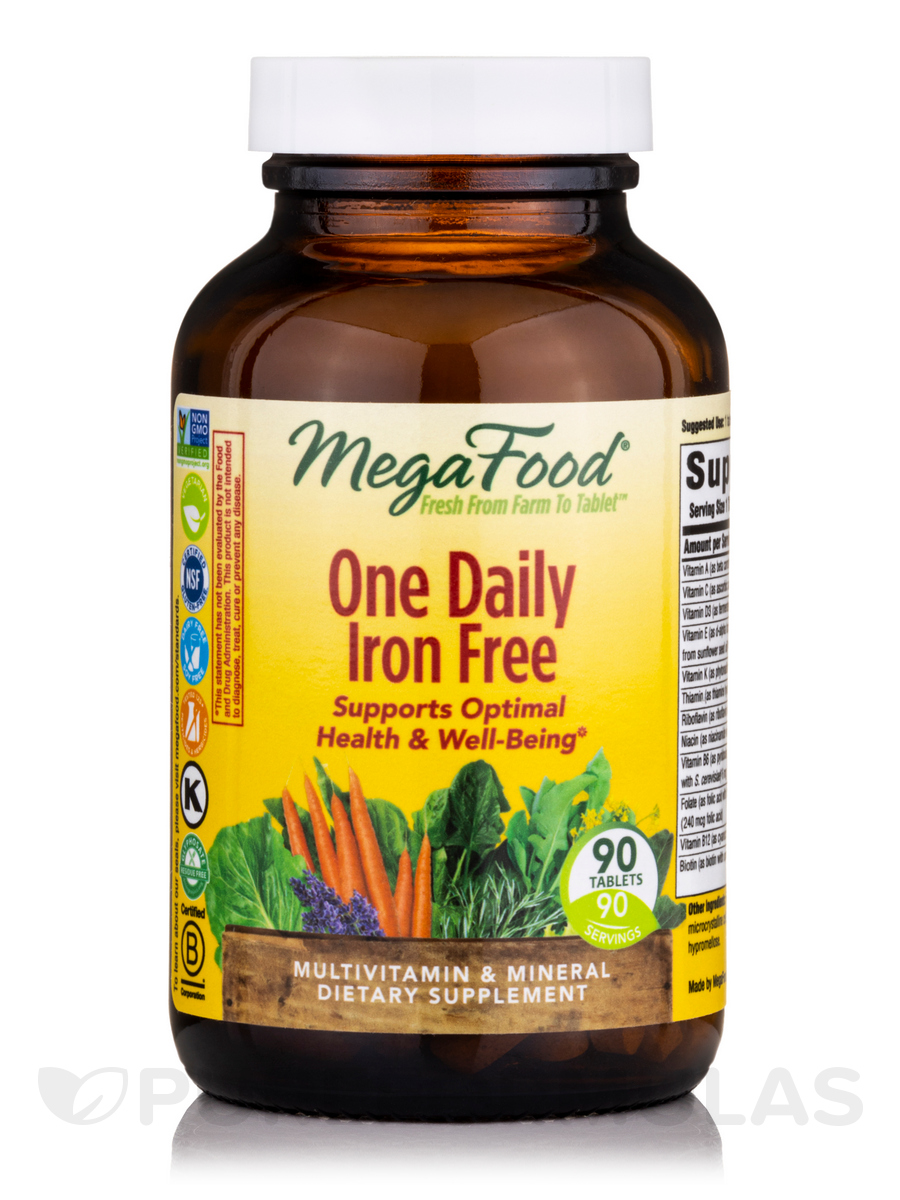 One Daily Iron Free - 90 Tablets