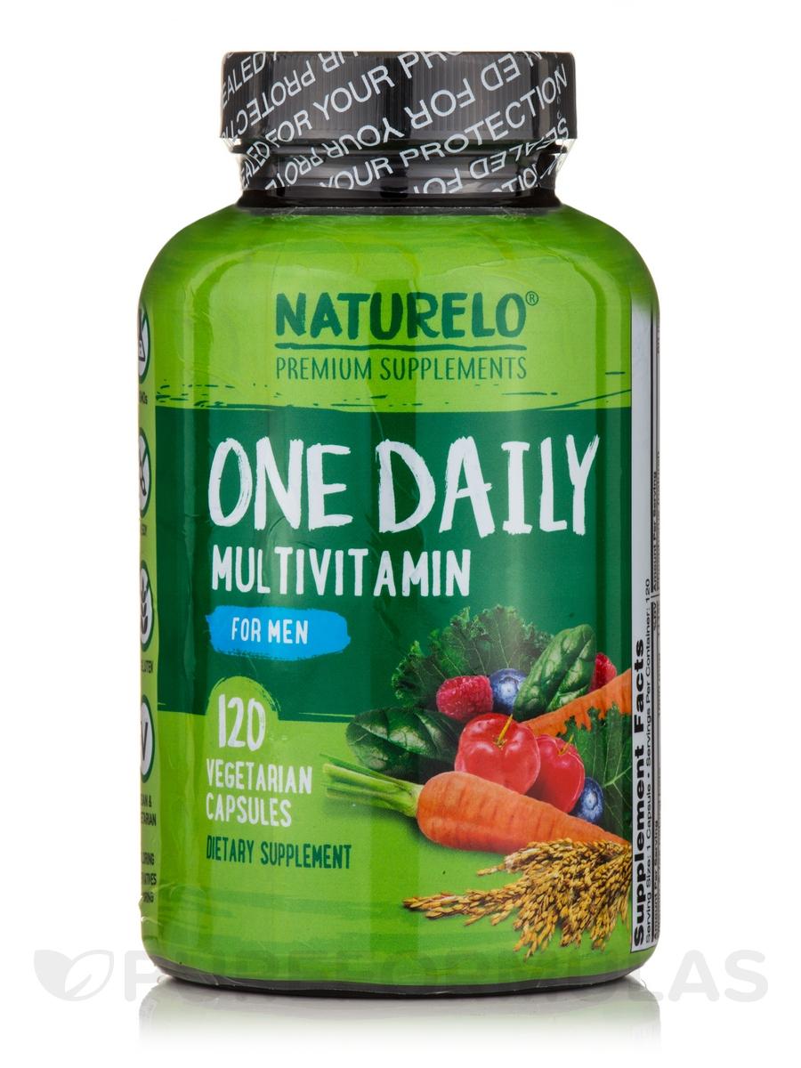 One Daily Multivitamin for Men - 120 Vegetarian Capsules