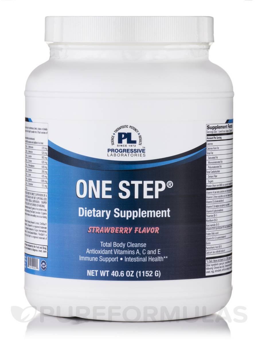 One Step Strawberry Flavor - 40.6 oz (1152 Grams)
