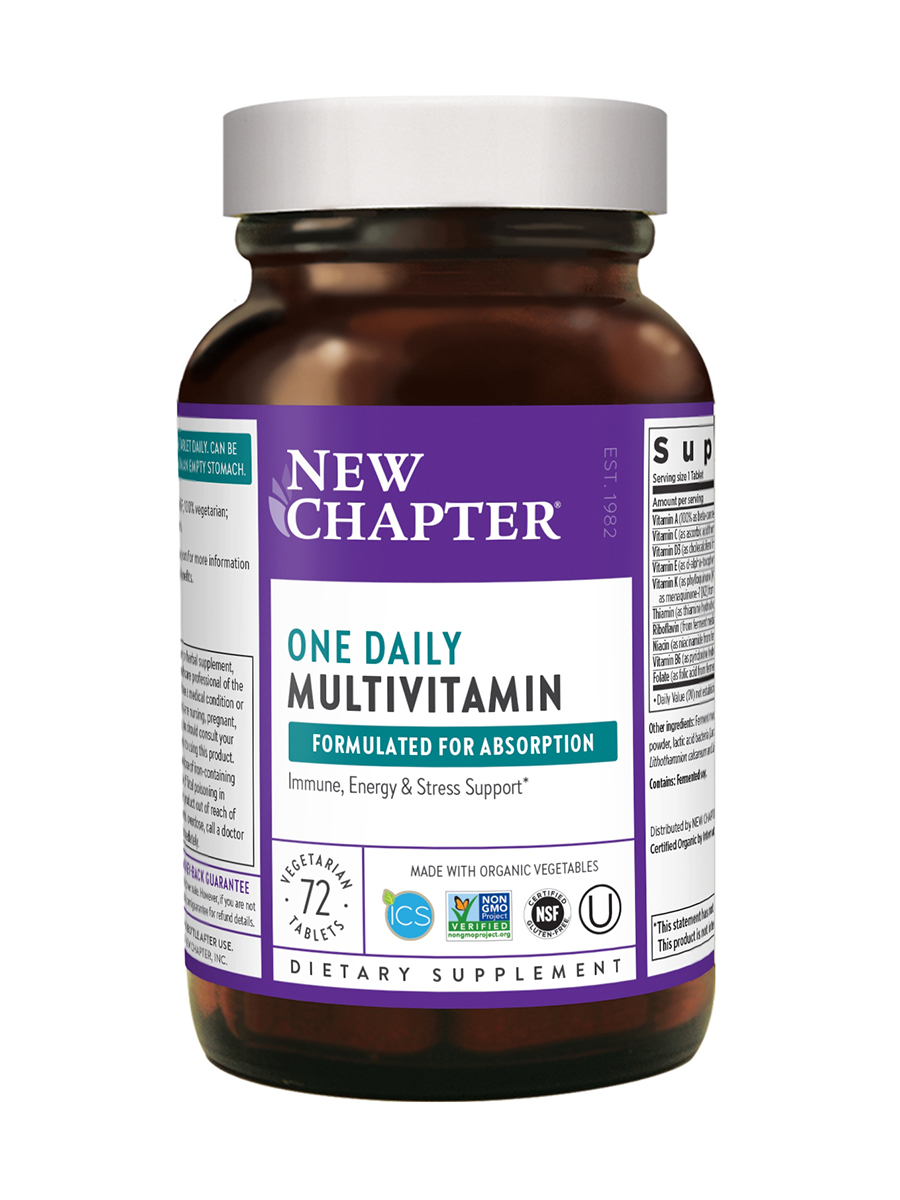 Only One Multivitamin - 72 Tablets