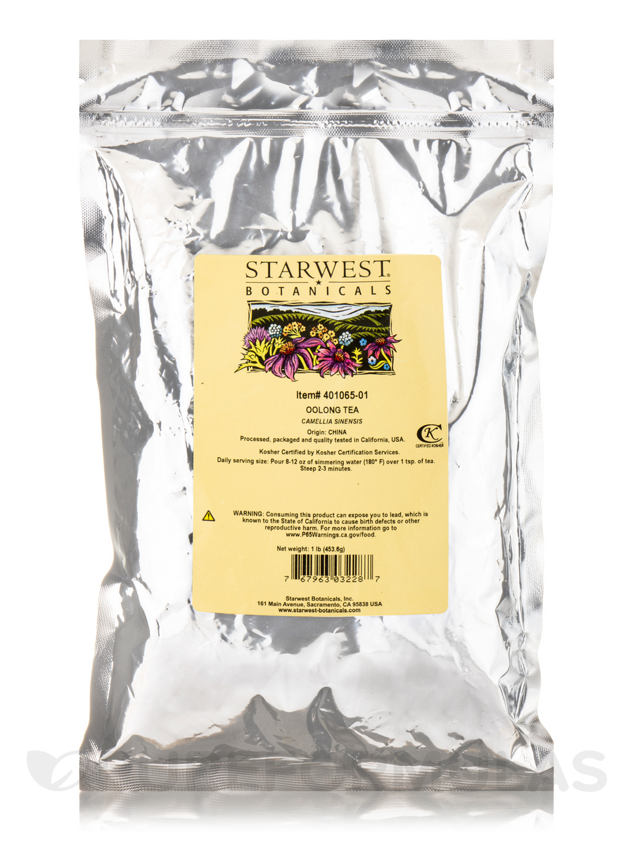 Oolong Tea - 1 lb (453.6 Grams)