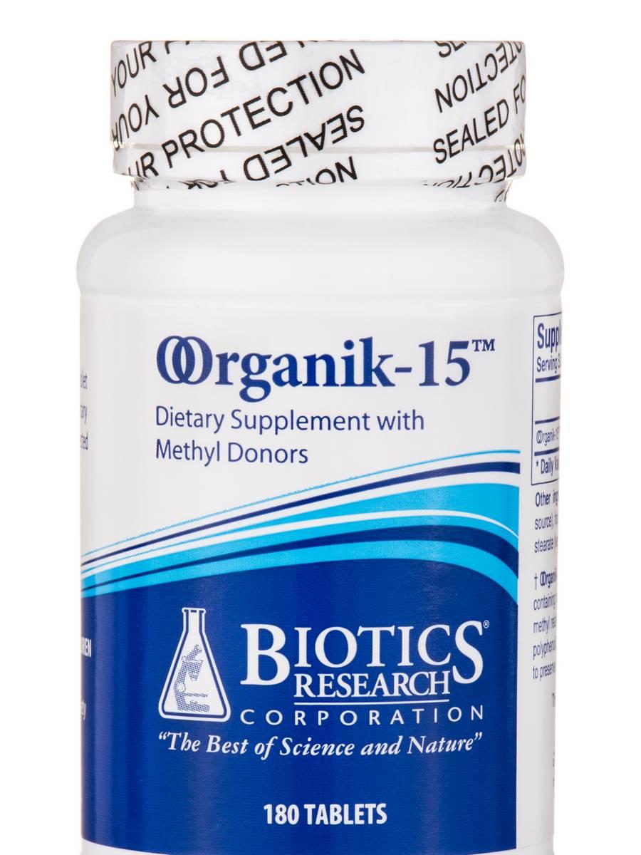 OOrganik-15™ - 180 Tablets