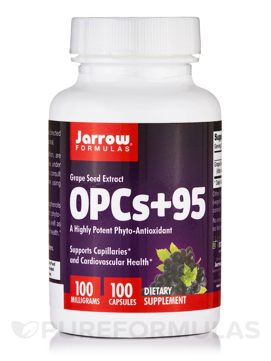 OPCs + 95 Grape Seed Extract 100 mg - 100 Capsules