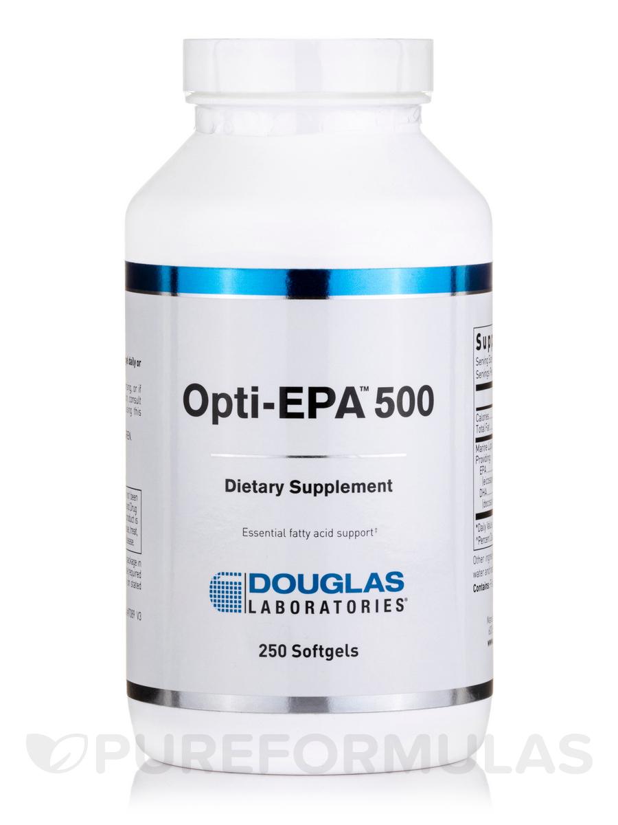 Opti-EPA 500 - 250 Softgels