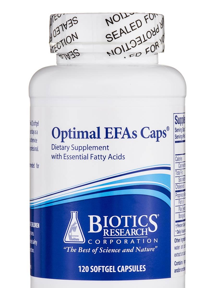 Optimal EFAs Caps - 120 Softgel Capsules