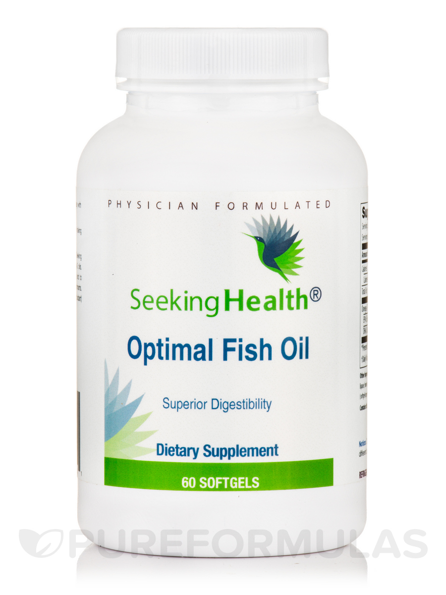 Optimal fish oil 60 softgels for Fish oil for cats dosage