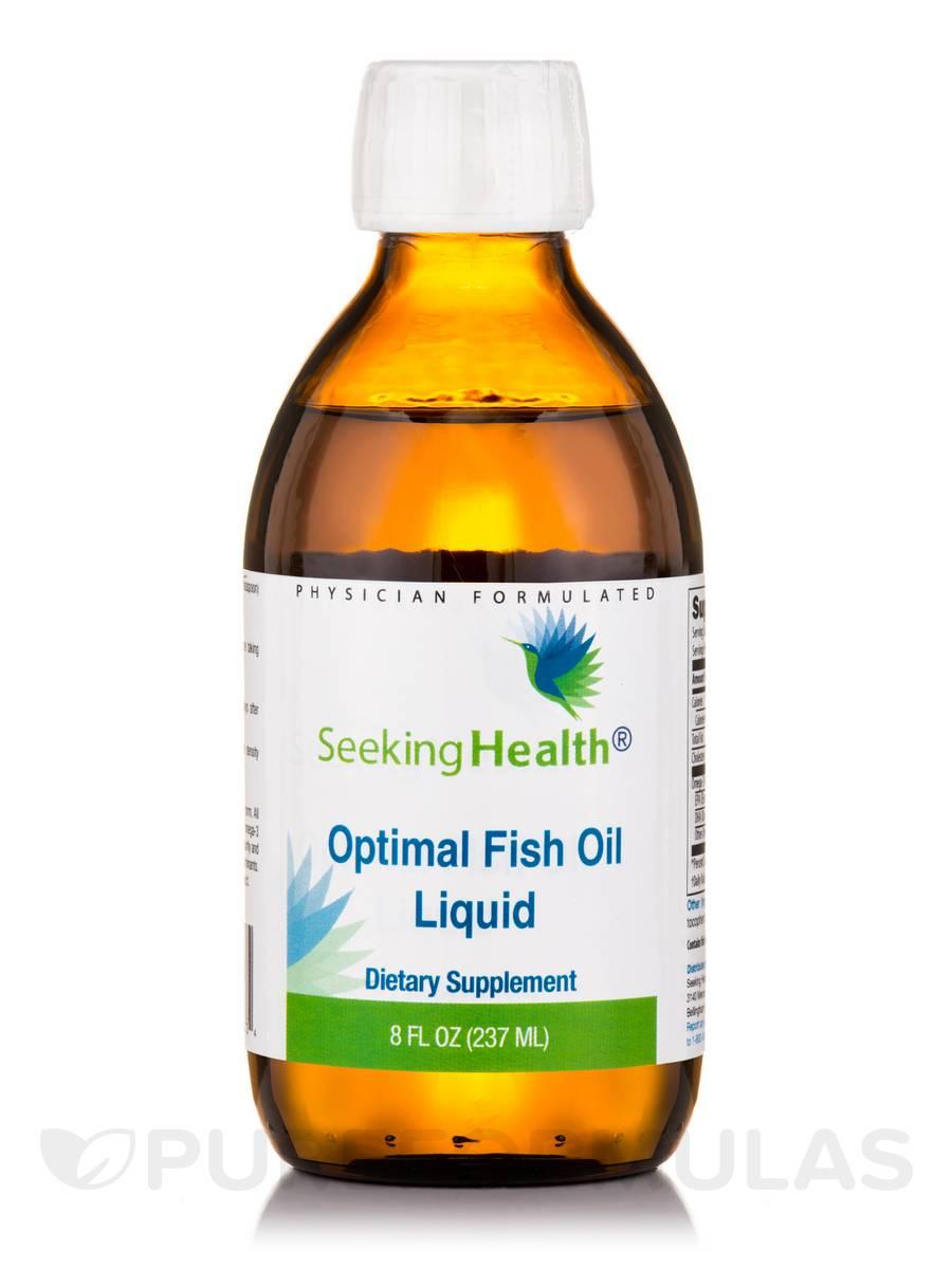 Optimal fish oil liquid 8 fl oz 237 ml for Liquid fish oil for dogs