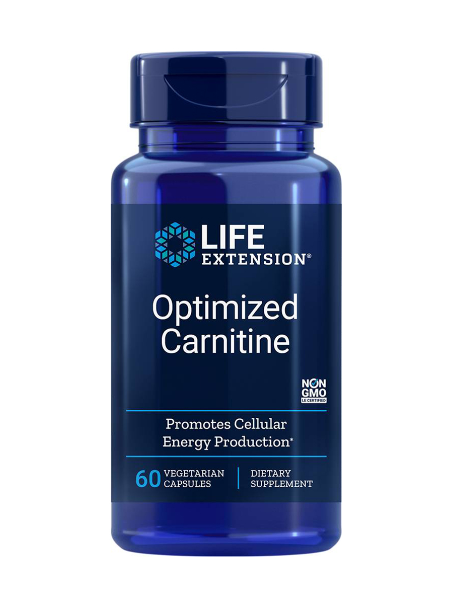 Optimized Carnitine with GlycoCarn - 60 Vegetarian Capsules