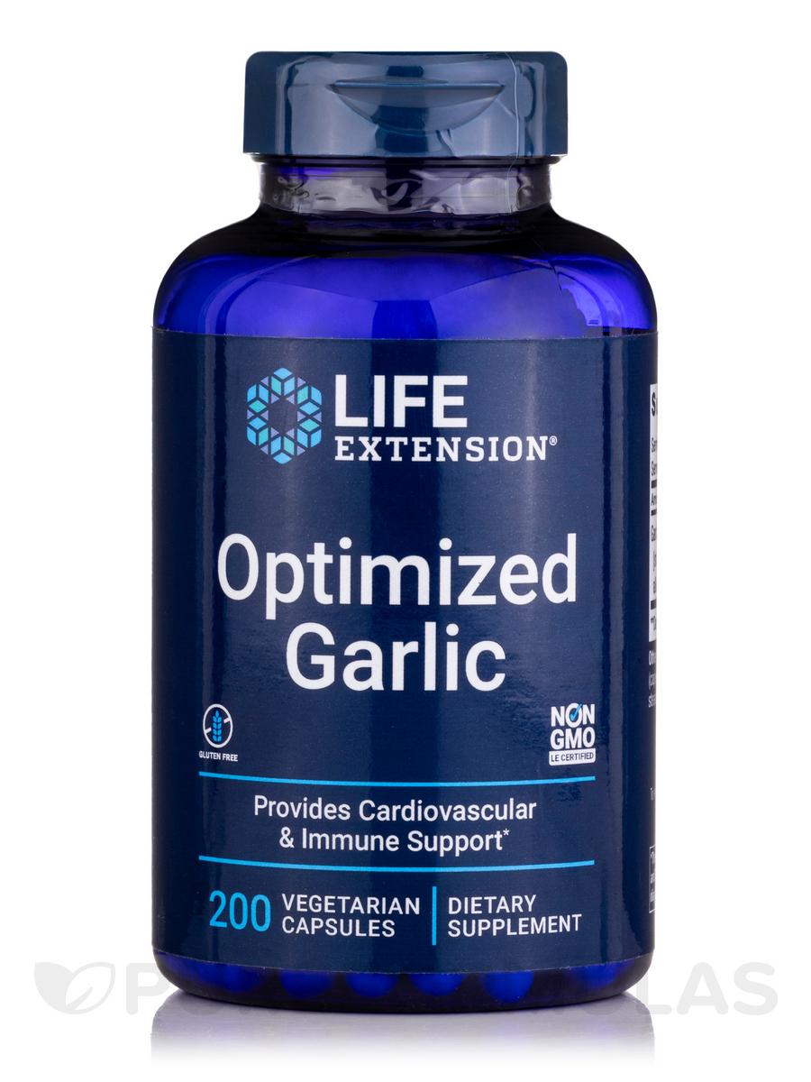 Optimized Garlic - 200 Vegetarian Capsules