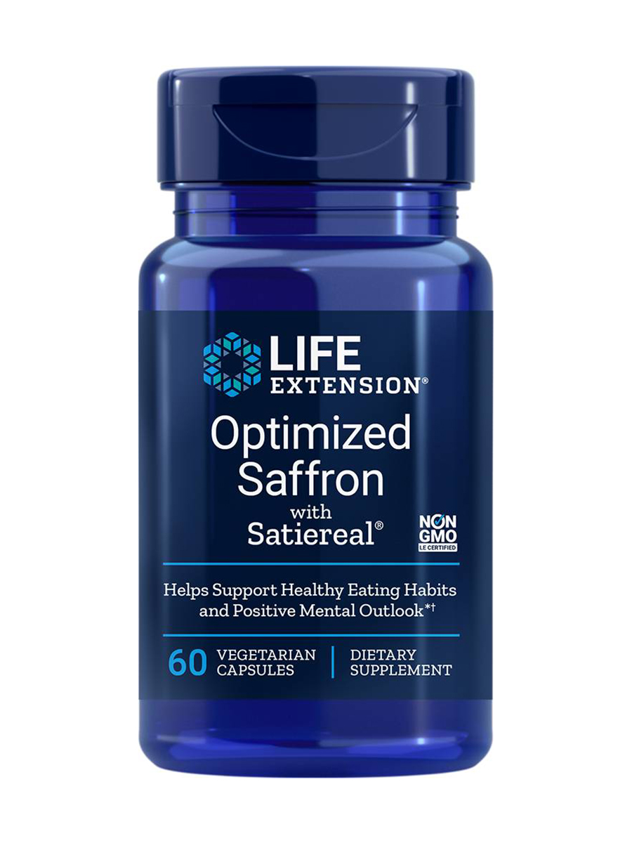 Optimized Saffron with Satiereal - 60 Vegetarian Capsules