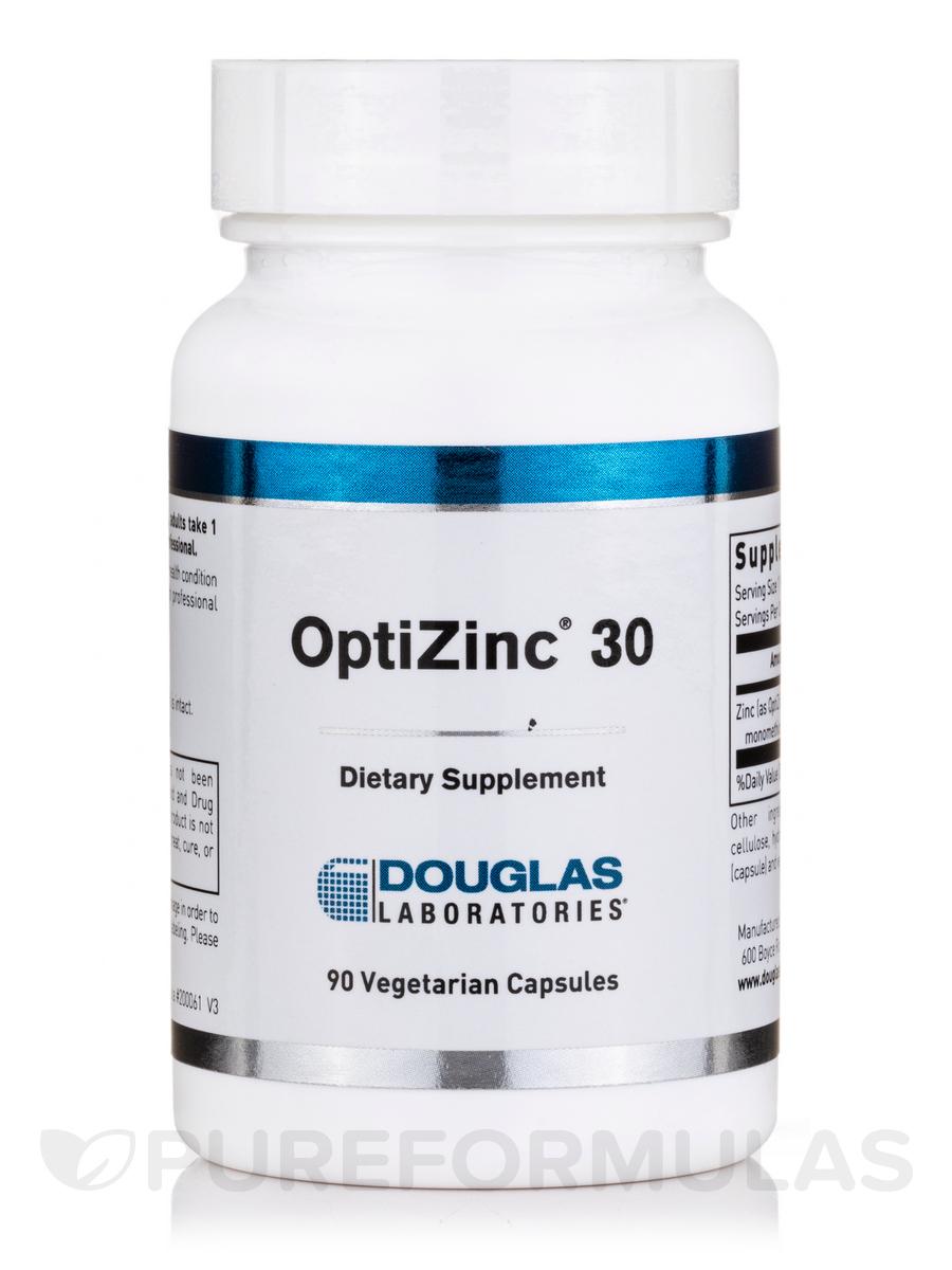 Opti-Zinc 30 - 90 Vegetarian Capsules