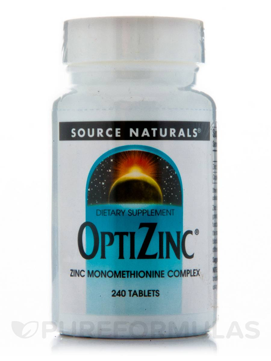 Optizinc Monomethionine - 240 Tablets