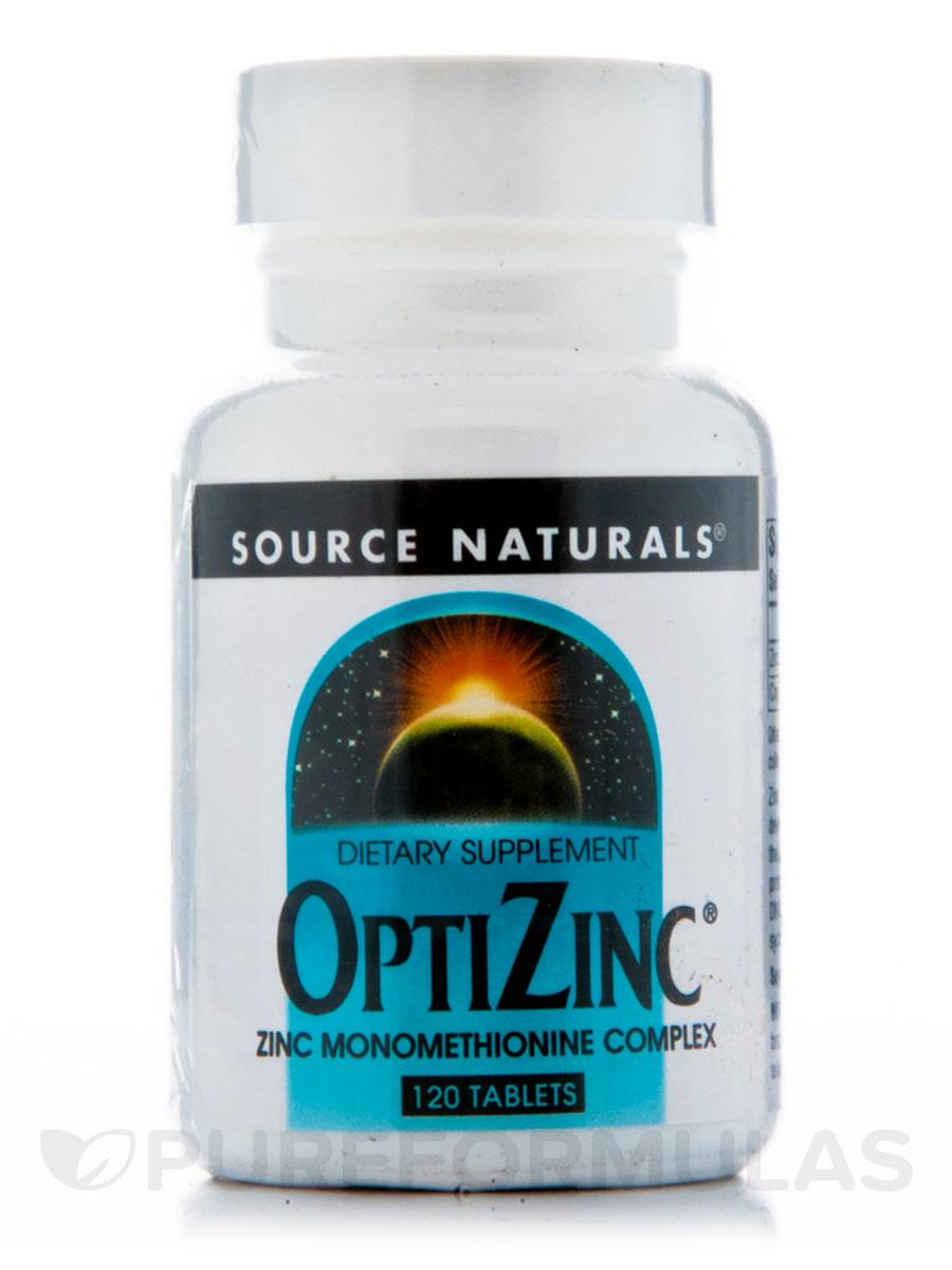Optizinc Monomethionine - 120 Tablets