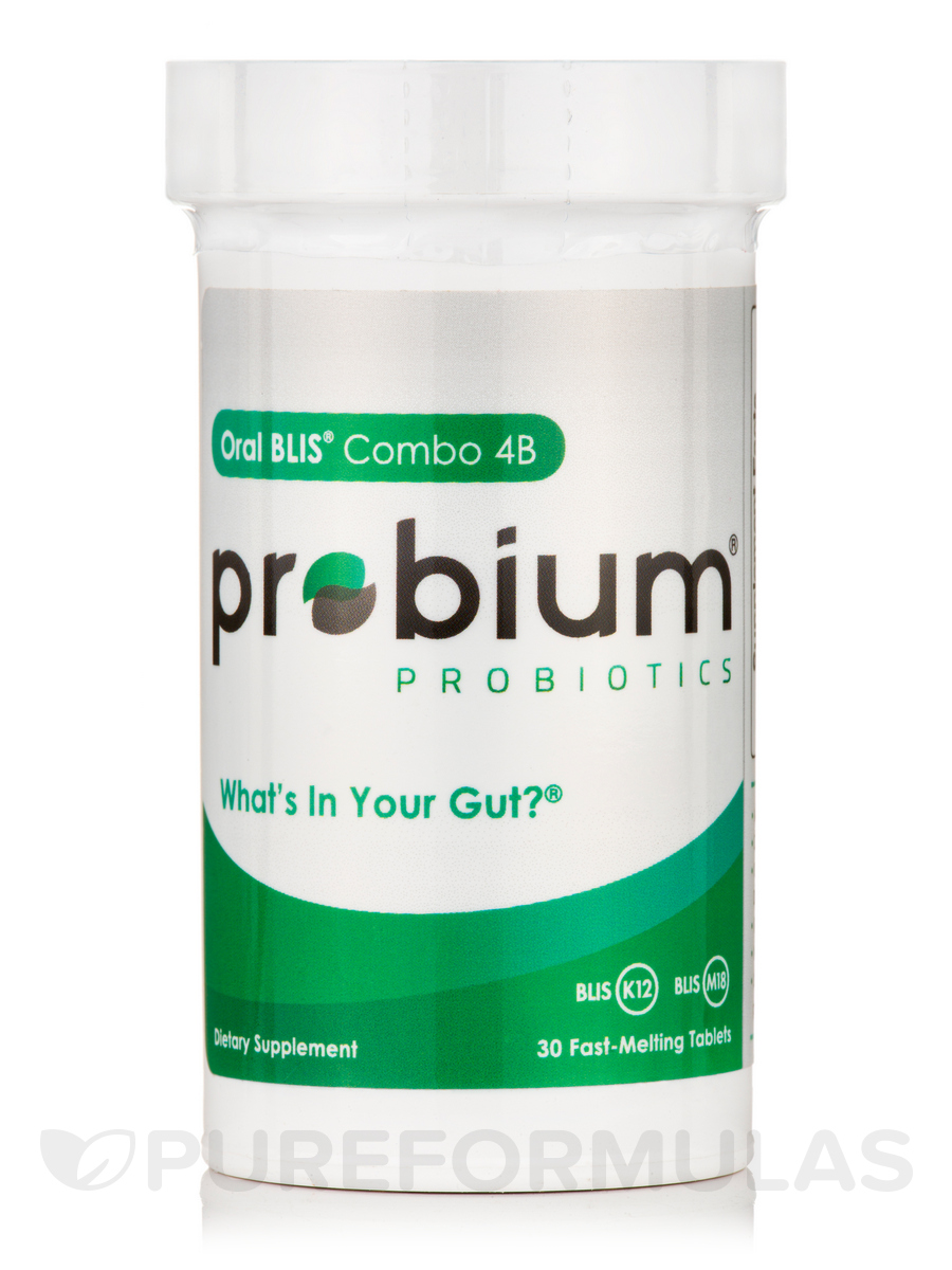 Probium® Oral Blis® Combo 4B - 30 Fast-Melting Tablets