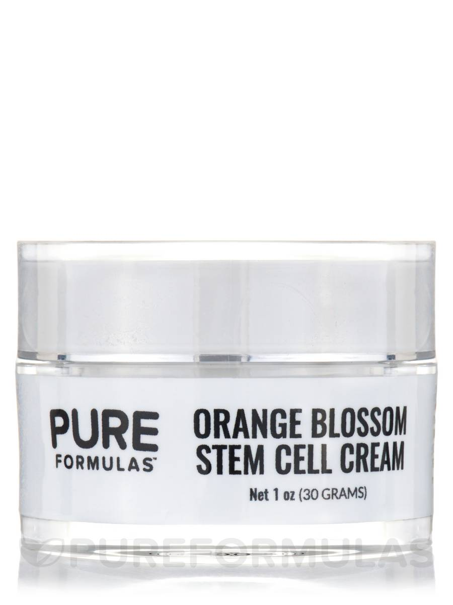 Orange Blossom Stem Cell Cream 1 Oz 30 Grams