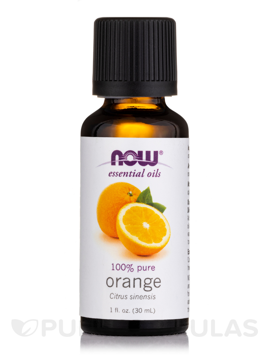 NOW® Essential Oils - Orange Oil - 1 fl. oz (30 ml)