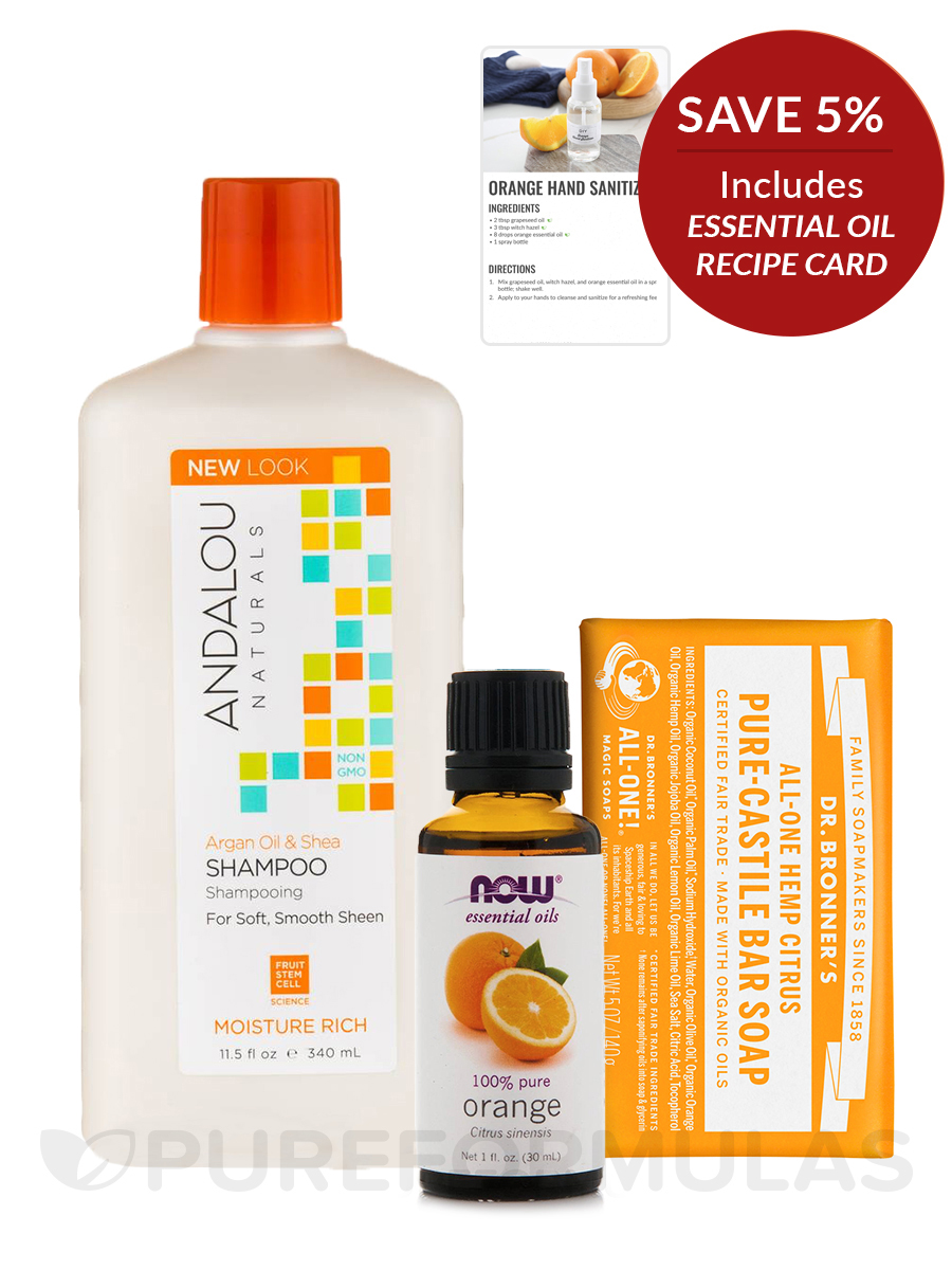 Orange Zest Bath & Body - Save 5% on a bundle