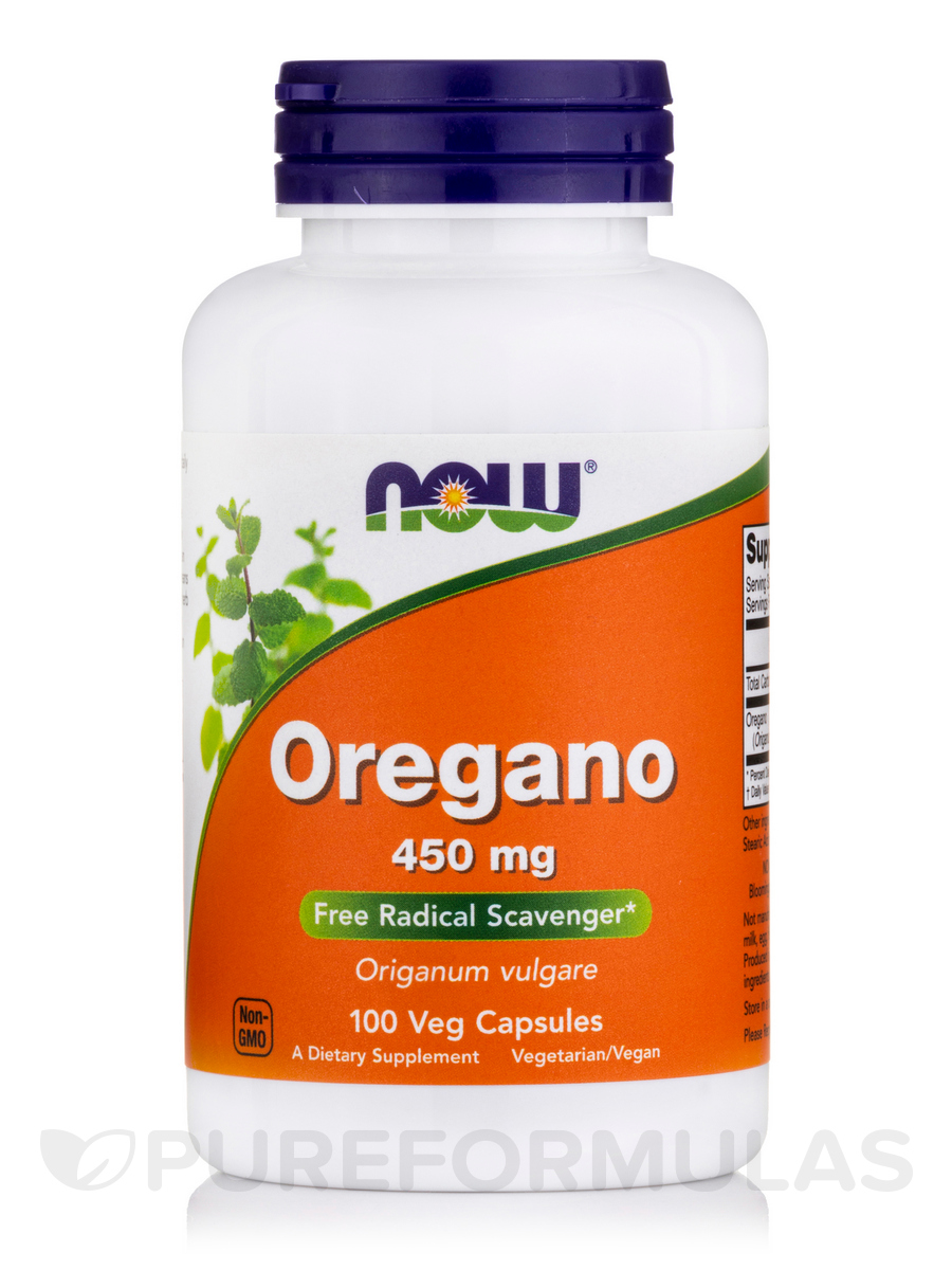 Oregano 450 mg - 100 Capsules