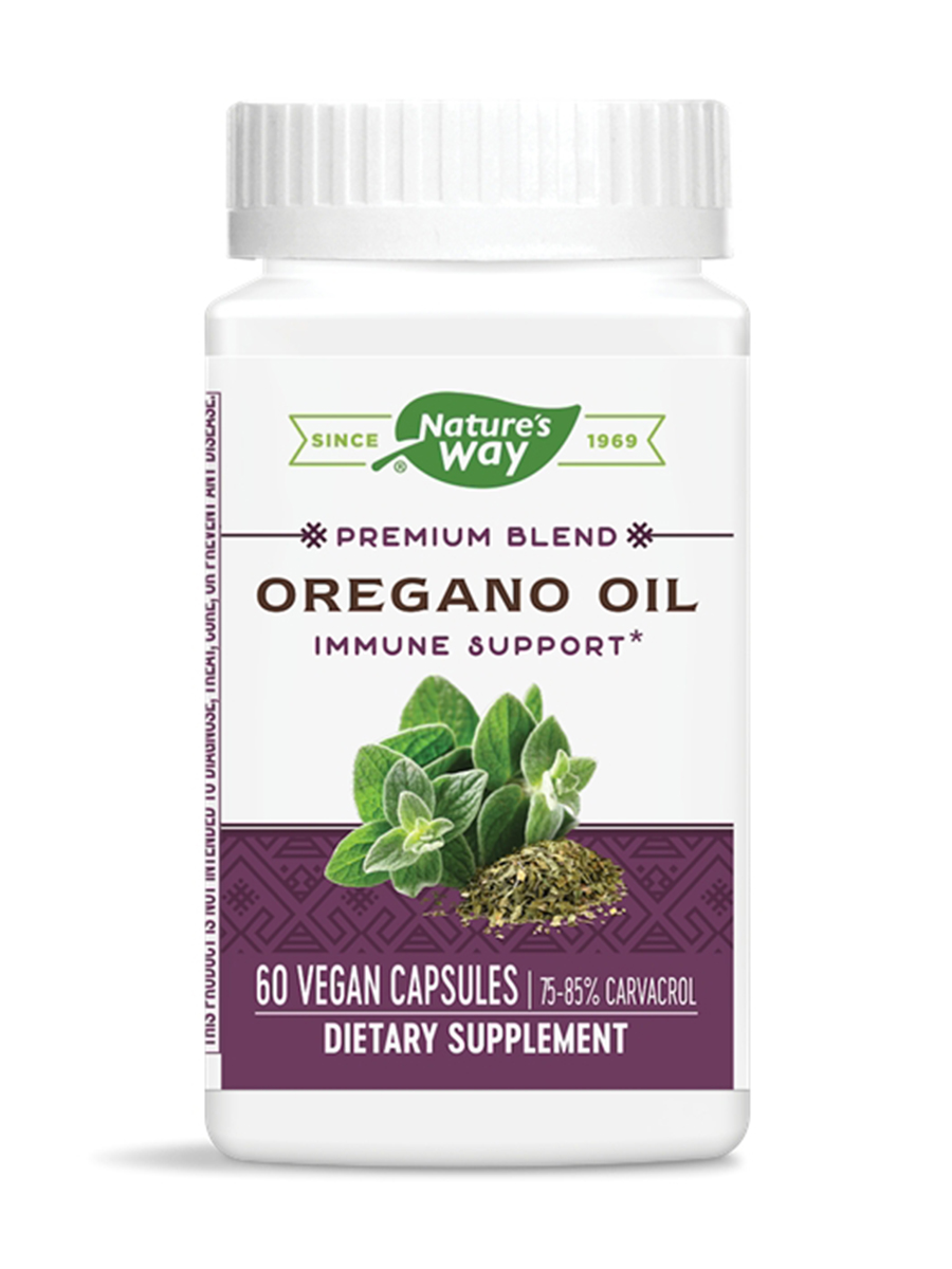 Oregano Oil Standardized - 60 VCaps