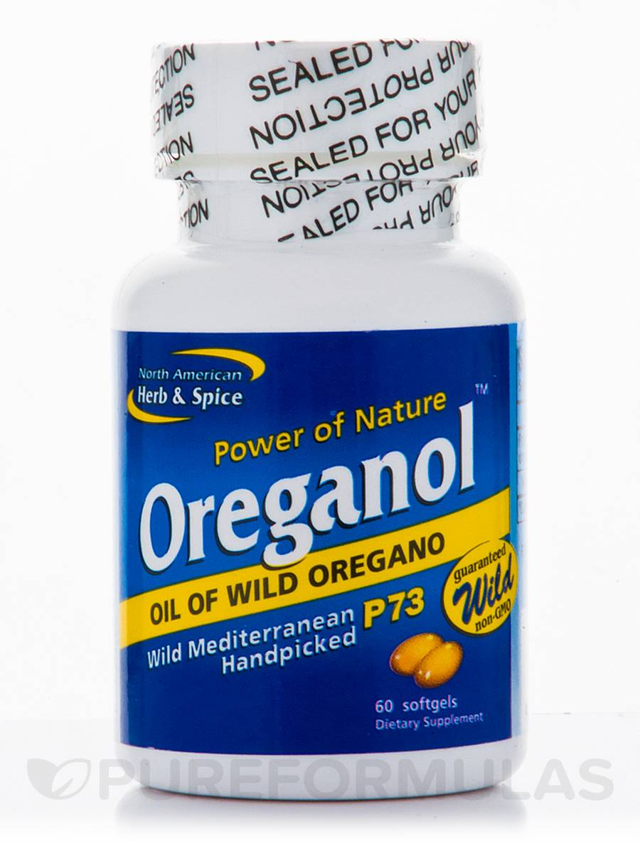 Oreganol 140 mg - 60 Softgels