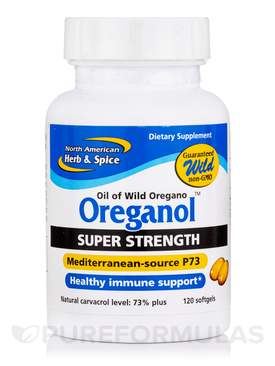 Oreganol P73 Super Strength 120 Softgels