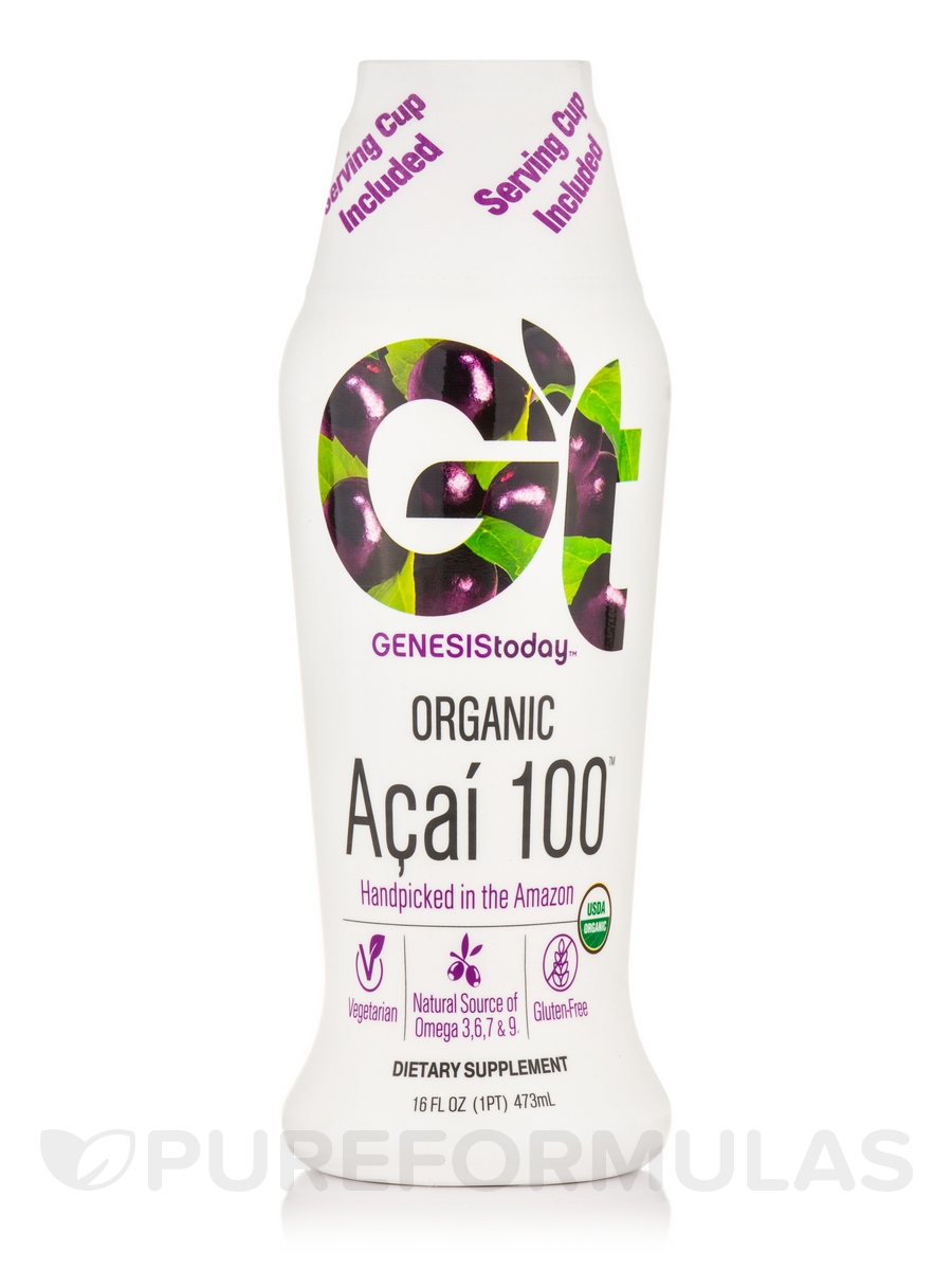 Organic Acai 100 - 16 fl. oz (473 ml)