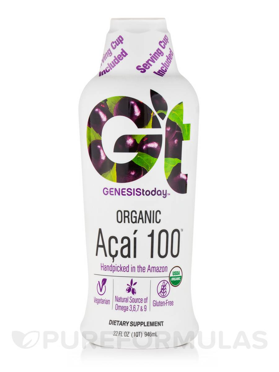 Organic Acai 100 - 32 fl. oz (946 ml)