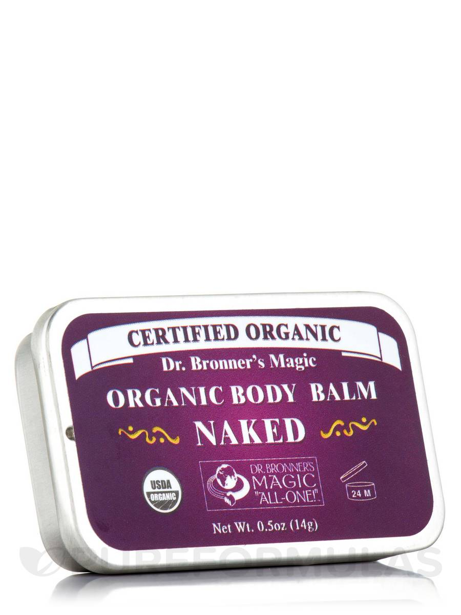 Organic Body/Tattoo Balm Naked - 0.5 oz (14 Grams)