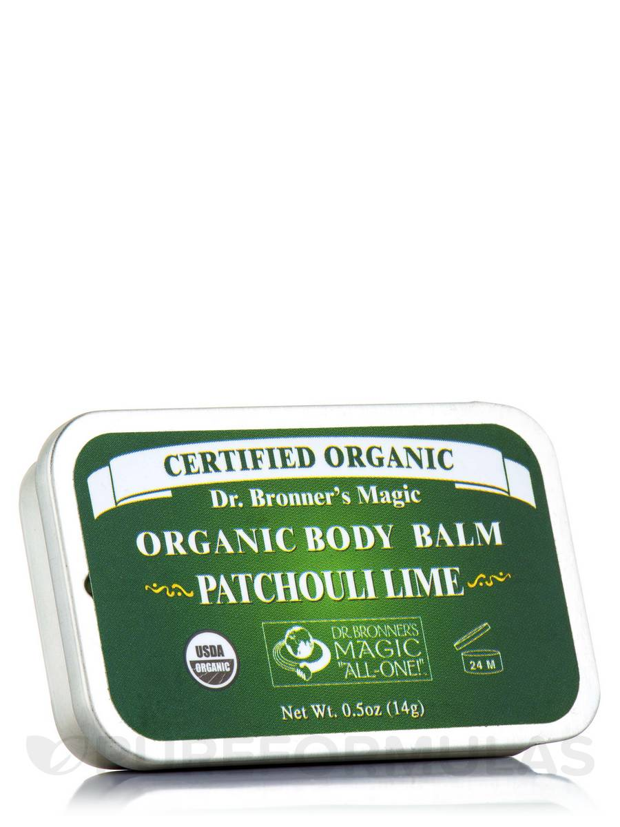 Organic Body/Tattoo Balm Patchouli Lime - 0.5 oz (14 Grams)