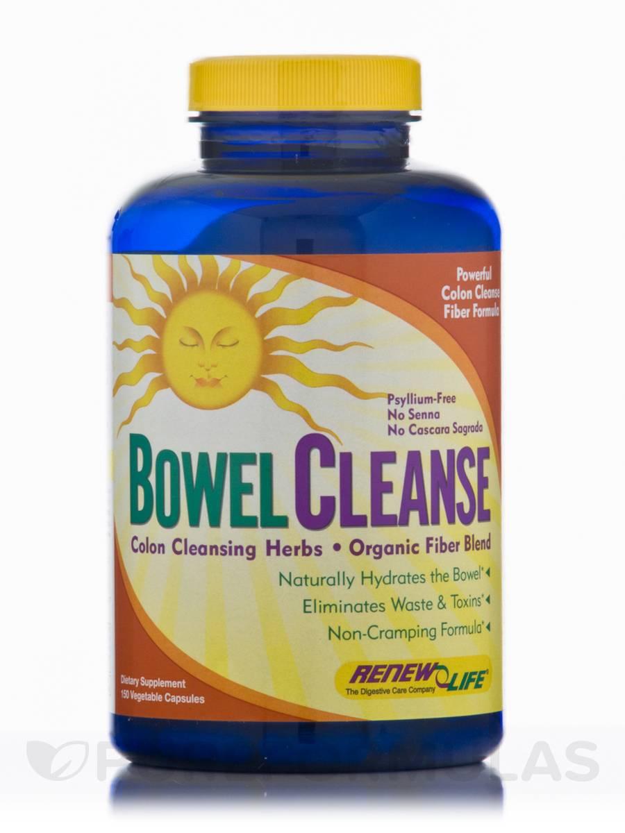 Organic Bowel Cleanse - 150 Capsules
