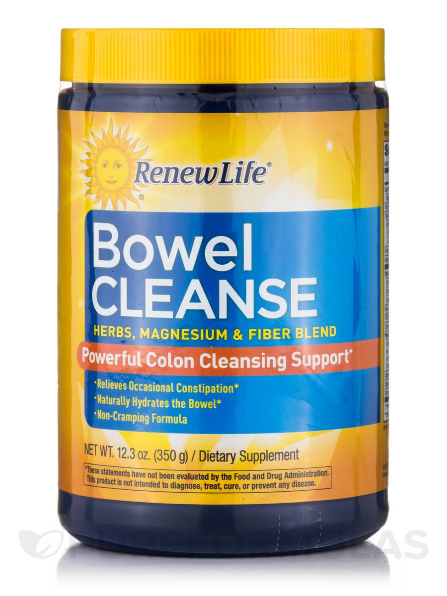 Organic Bowel Cleanse Powder - 13.3 oz (375 Grams)