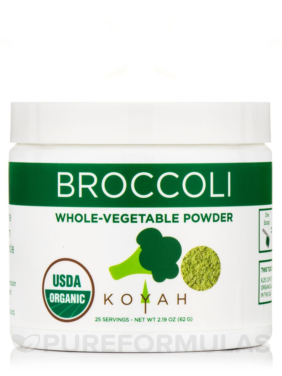 Organic Broccoli Powder - 2.19 oz (62 Grams)