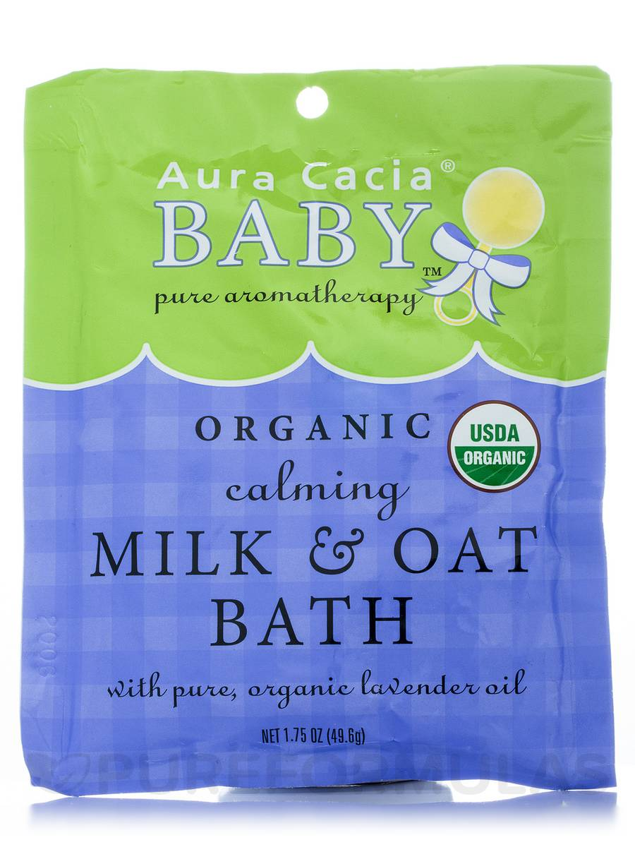 Organic Calming Milk and Oat Bath - 1.75 oz (49.6 Grams)