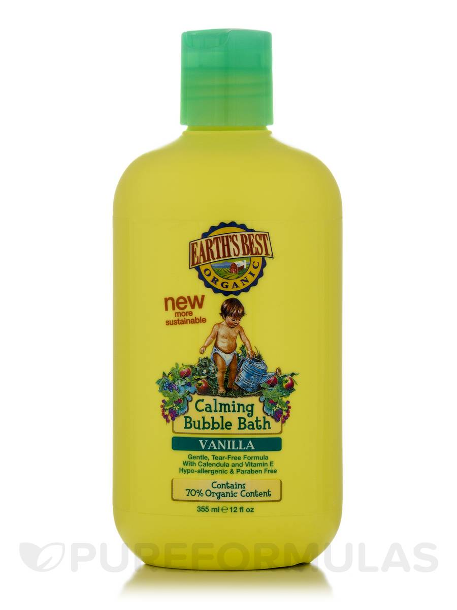 Calming Bubble Bath, Vanilla - 12 fl. oz (355 ml)