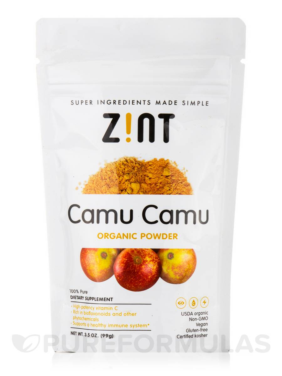 Organic Camu Camu Powder - 3.5 oz (99 Grams)