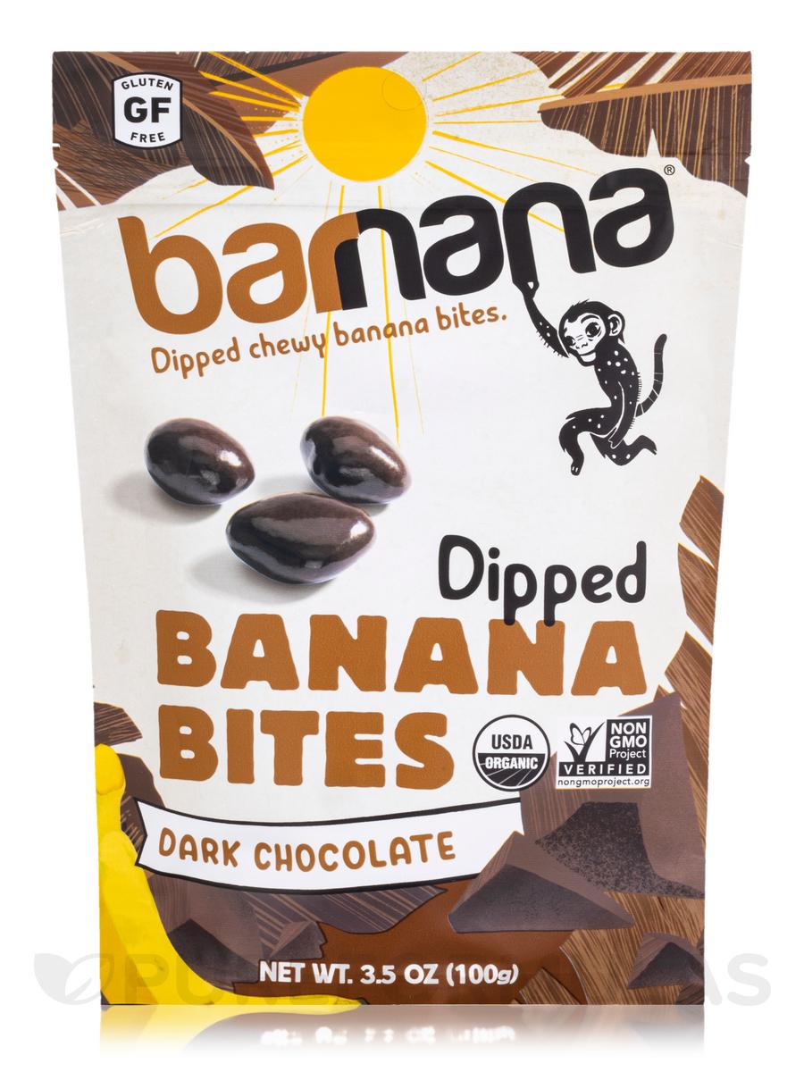 Chocolate Chewy Banana Bites - 3.5 oz (100 Grams)
