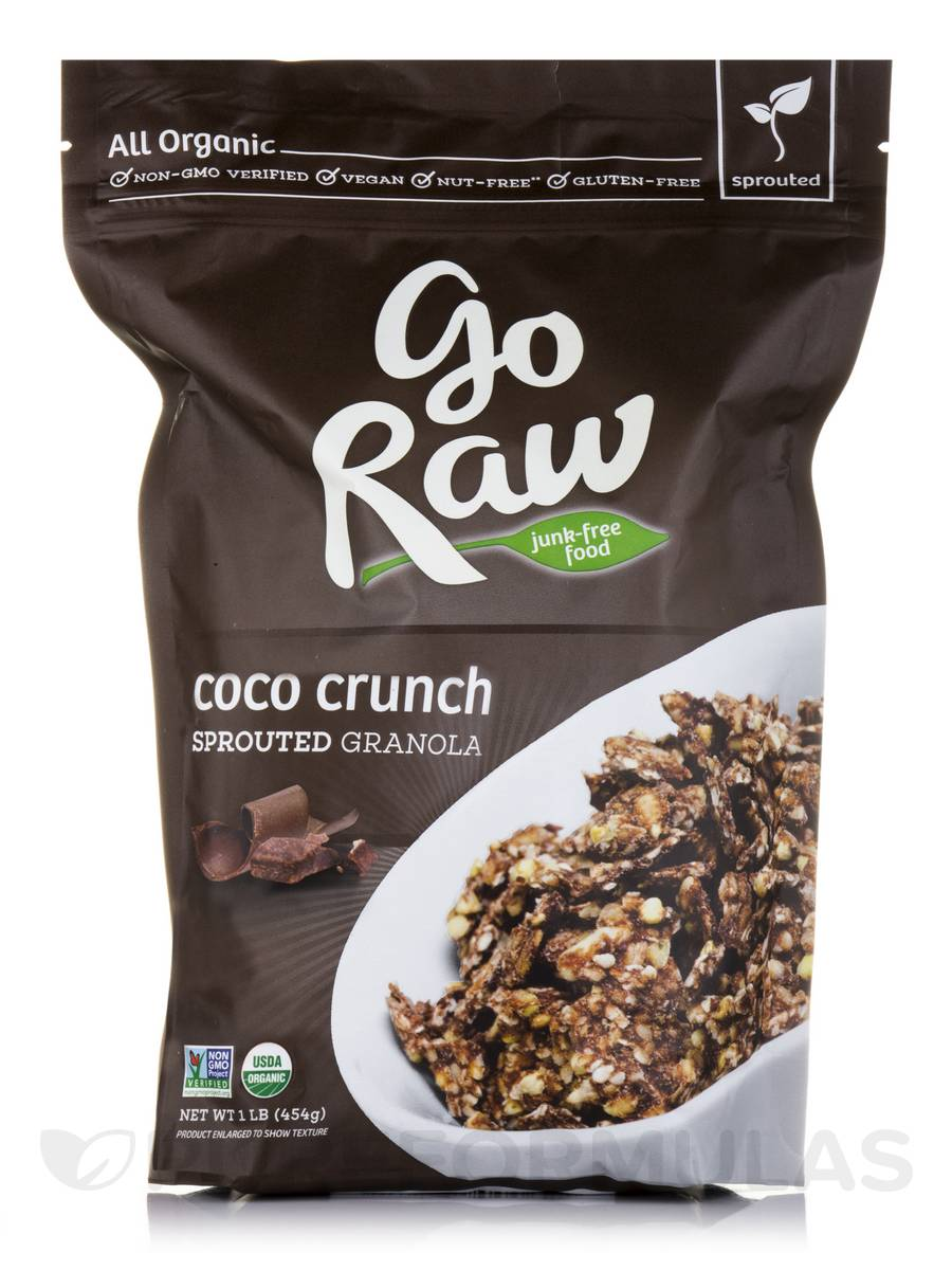 Coco Crunch Sprouted Granola - 1 lb (454 Grams)