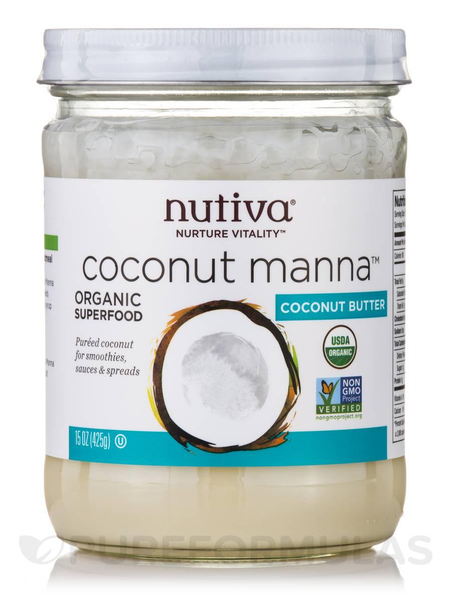 Organic Coconut Manna - 15 oz (425 Grams)